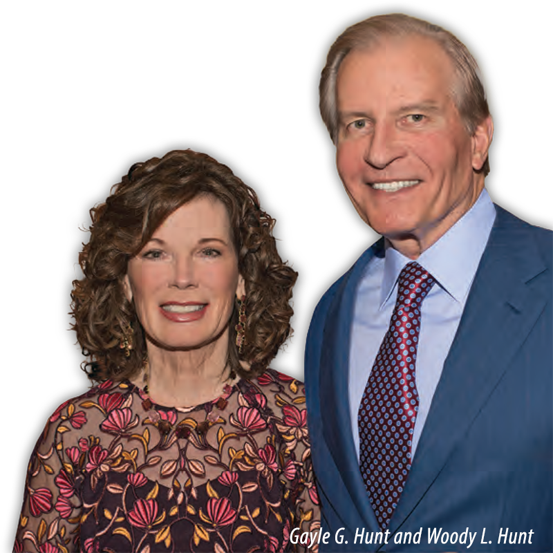 Gayle G. Hunt and Woody L. Hunt
